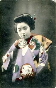 Japanese woman 1910