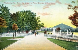 Philadelphia, PA from the bridge to Picnic Grounds, Willow Grove