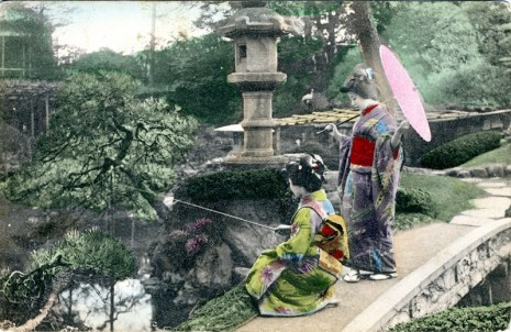 view of Japan 1910