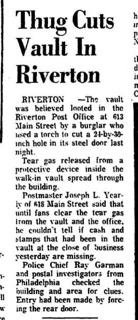 1969-02-12, Trenton Evening Times p4 Thug cuts post office safe from Mary Flanagan