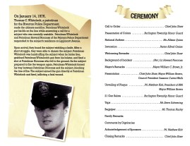 2012 memorial dedication pamphlet pg2 and 3