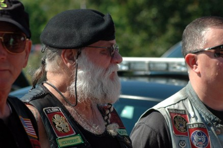 """Leo """"Smooth"""" Ethier, Vice-President of the Nam Knights, Delaware Valley Chapter http://www.delvalnamknights.org/"""