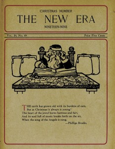 1909 New Era Christmas Issue, front cover