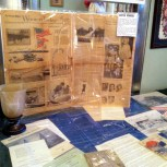 Carhart items - note newspaper from 90th RYC anniv.