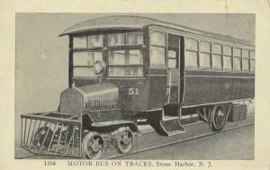 Stone Harbor, NJ postcard 1921