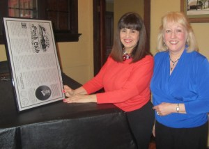 Mrs. JoAnn DiNoia, left: Mrs. Phyllis Rodgers, right