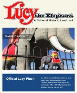 stuffed Lucy