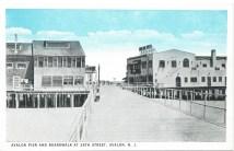 Avalon Pier, Avalon, N.J. 1930
