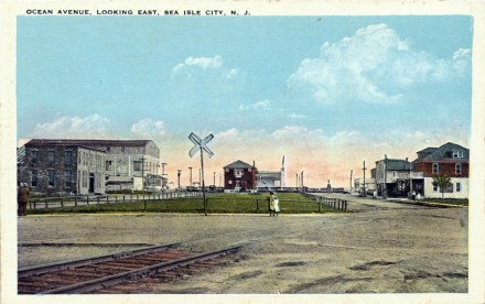 Ocean Avenue, Looking East, Sea Isle City, N.J.