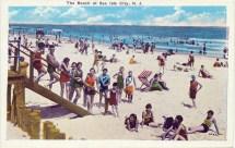 The Beach at Sea Isle City, N.J.