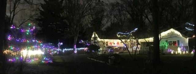 Woodside La lights