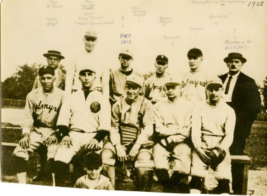 1925 Palmyra Riverton Twilight League bruce beahn written on back (Copy)