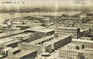 CAMDEN, NJ RPPC #11 1909