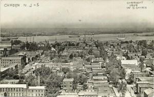 CAMDEN, NJ RPPC #5 1909