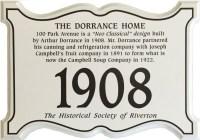 Dorrance_house_plaque