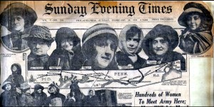 (Philadelphia) Sunday Evening Times, Feb. 16, 1913