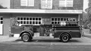 undated Riverton fire engine