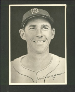 Hal Wagner 1946 Boston Red Sox