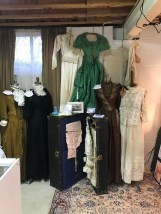 vintage clothing and trunk