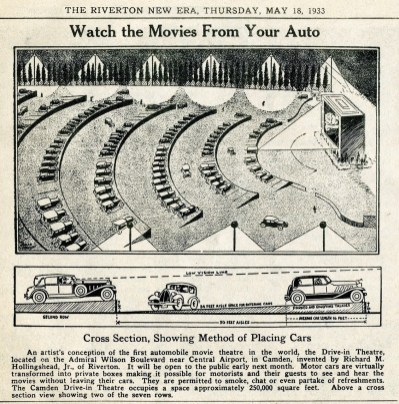 Hollingshead drive-in, The New Era, May 18, 1933, p9