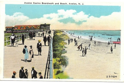 Avalon Casino, Boardwalk, and Beach, Avalon, NJ