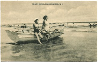 Beach scene, Stone Harbor, NJ 1334