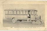 Motor bus on tracks, Stone Harbor, NJ