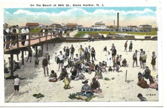 On the beach at 96th St., Stone Harbor, NJ