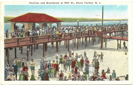 Pavilion and Boardwalk at 96th St., Stone Harbor, NJ