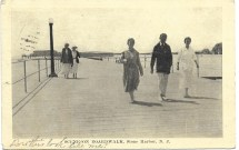 Scene on boardwalk, Stone Harbor, NJ