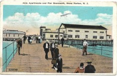 Alba Apartments and Pier Boardwalk