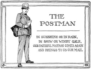 Postman's Motto - Our Town and Civic Duty