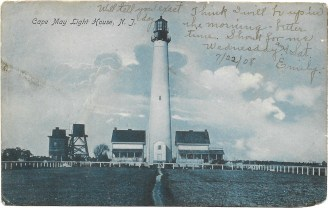 Cape May Light House N.J. 1908