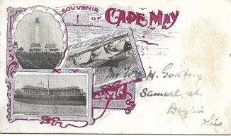 Souvenir of Cape May, 1901