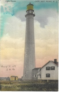 Light House, Cape May Point, N.J. 1909