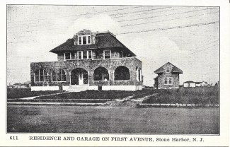 Residence and garage on First Avenue