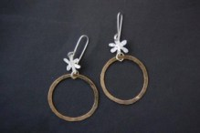 metalsmithing earrings