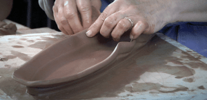 clay platter