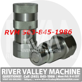 Hydraulic Cylinder Quick-Connect Coupler