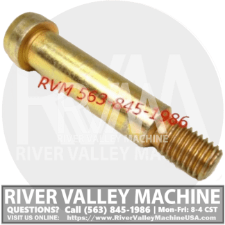 Bobcat Shoulder Bolt @ River Valley Machine USA | RVM, LLC