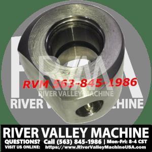 Rod Eye [6804674] for Hydraulic Cylinder w/ Zerk on Bobcat Single-Tilt Machines