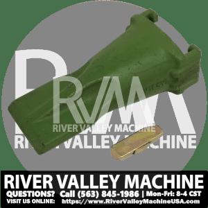 V19SYL Bucket Tooth w/ Pin @ RVM, LLC | River Valley Machine