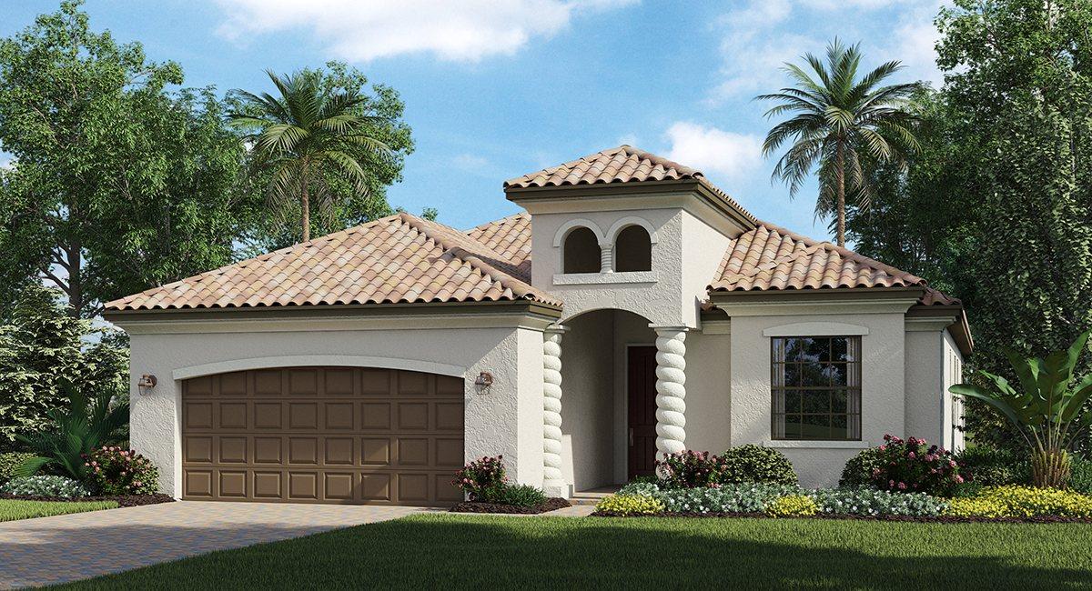 Lakewood National Coach Homes & Terraces Homes Lakewood Ranch Florida New Homes Community