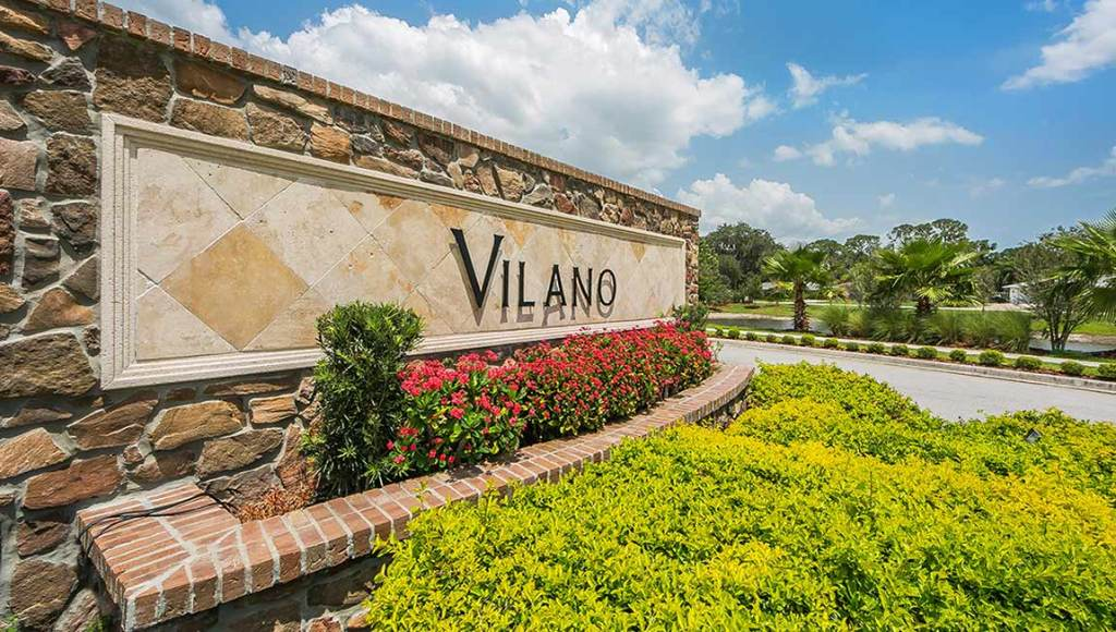 Vilano Subdivision Sarasota Florida New Homes Community