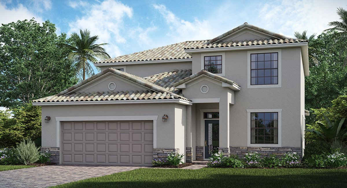 The Amalfi Lennar Homes Bradenton & Lakewood Ranch Florida New Homes Communities