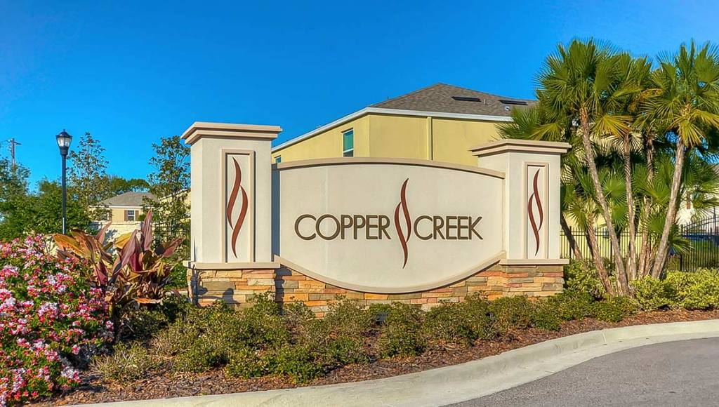 Cooper Creek Subdivision Gibsonton Florida New Town Homes Community