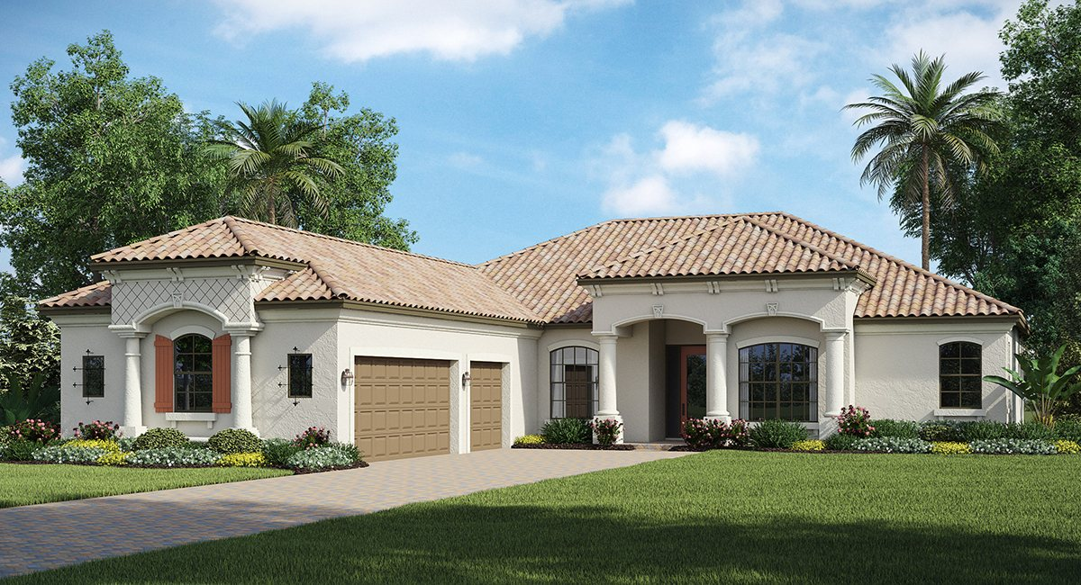 MOORINGS AT HERITAGE HARBOUR Bradenton Florida New Homes Community