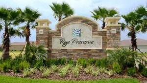Rye Wilderness Bradenton Florida New Homes Community