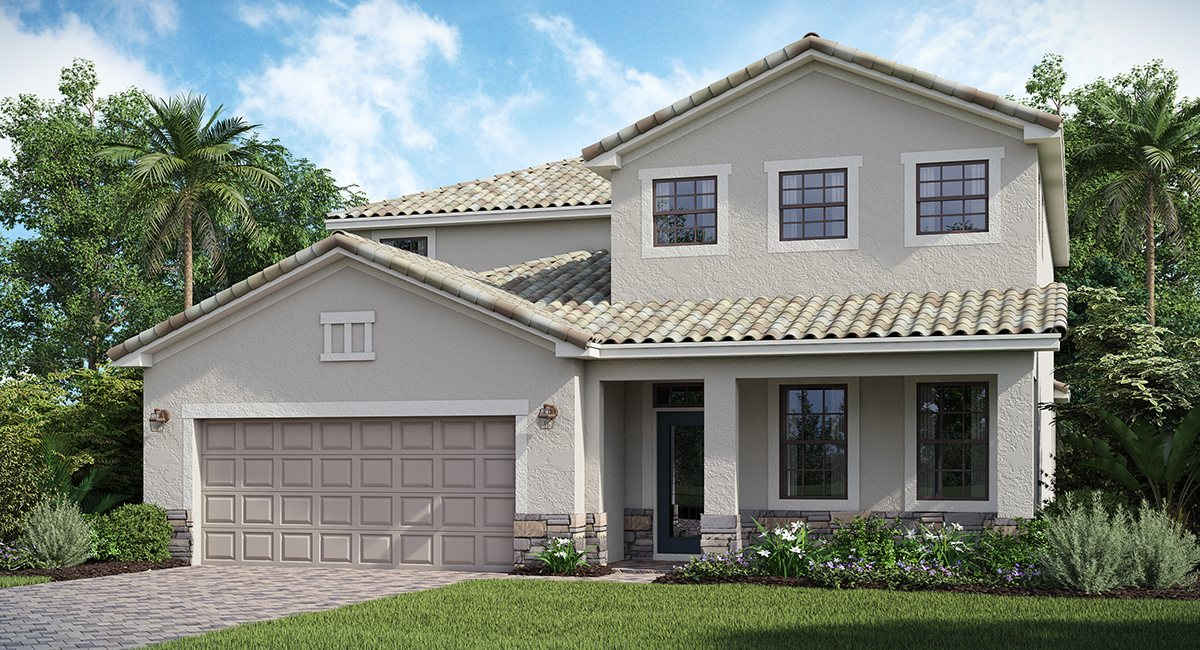 Copperleaf: The Navona Lennar Homes Bradenton  Florida New Homes Communities