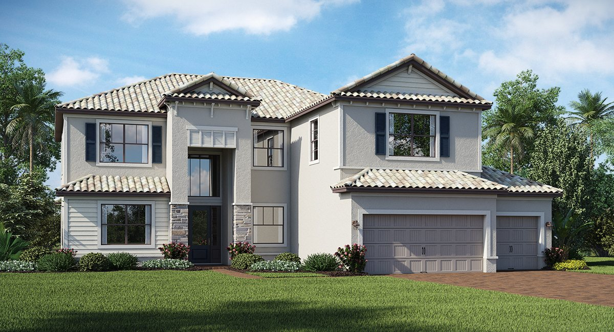 Polo Run: The National Lennar Homes Lakewood Ranch Florida New Homes Communities